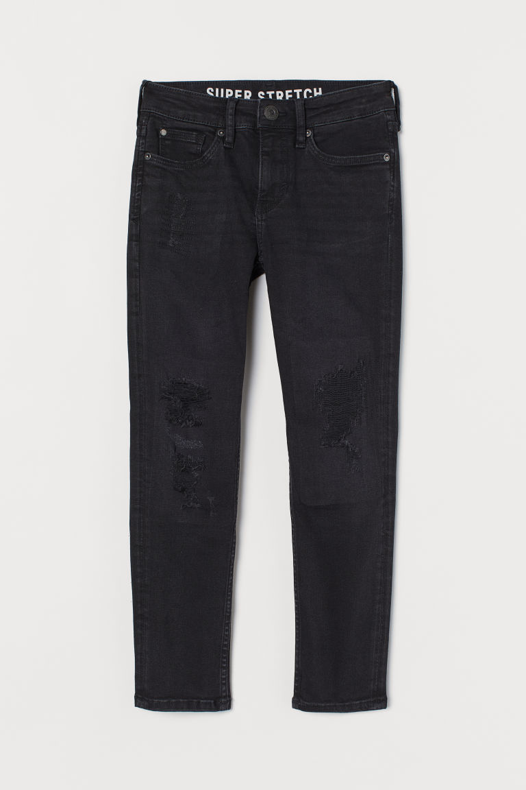 Superstretch Skinny Fit Jeans - Black - Kids | H&M