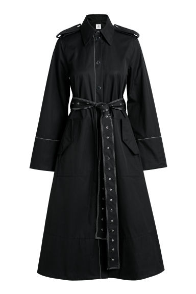 Trench - Nero - DONNA | H&M IT