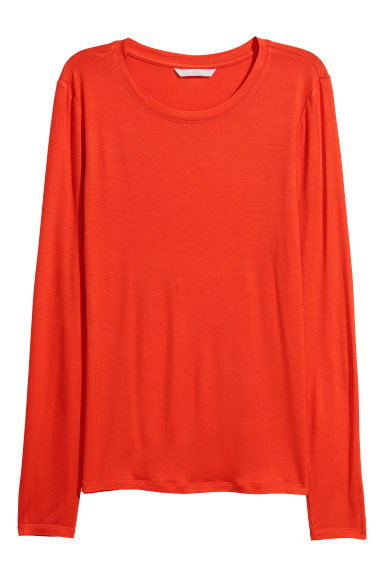 Top - Orange -  | H&M CN
