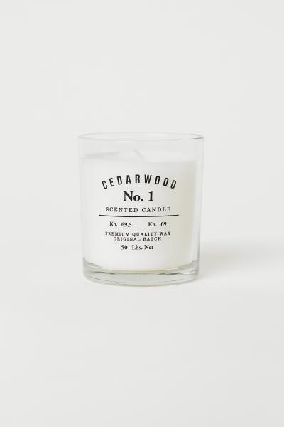 H&M - Vela aromática en frasco - 1