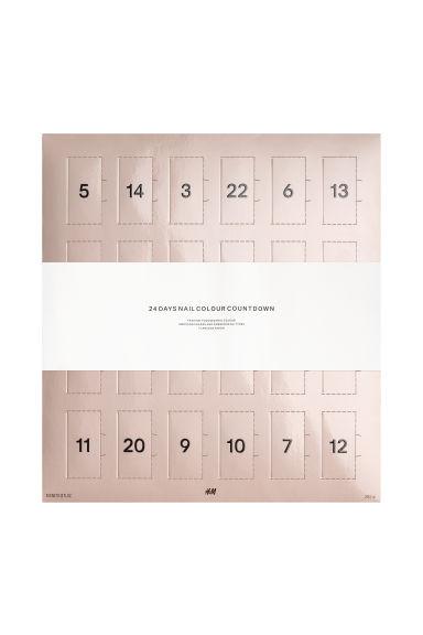 jól néz ki őrült ár egyre népszerűbb Körömlakk-kalendárium - Többszínű - NŐI   H&M HU
