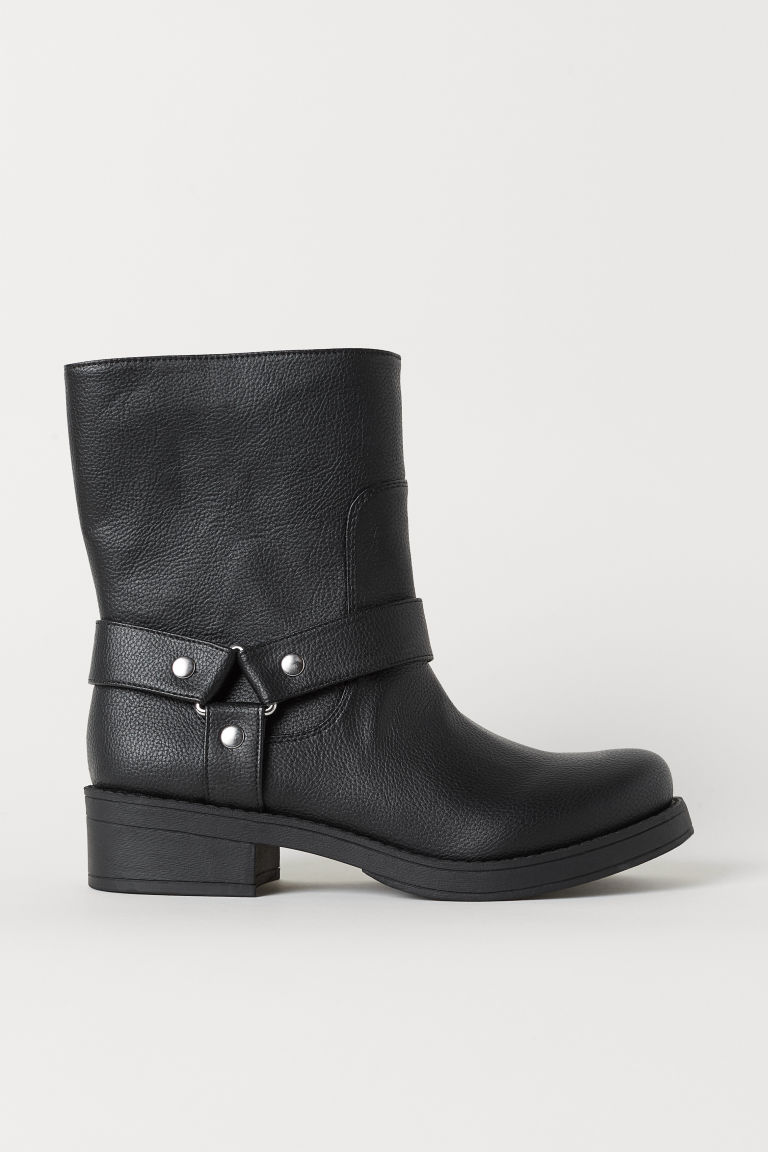 Biker boots - Black - Ladies | H&M