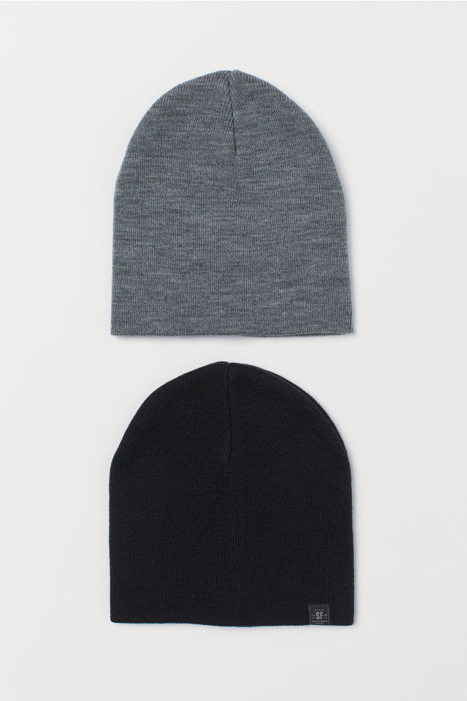 d38a0c5a4 2-pack fine-knit hats