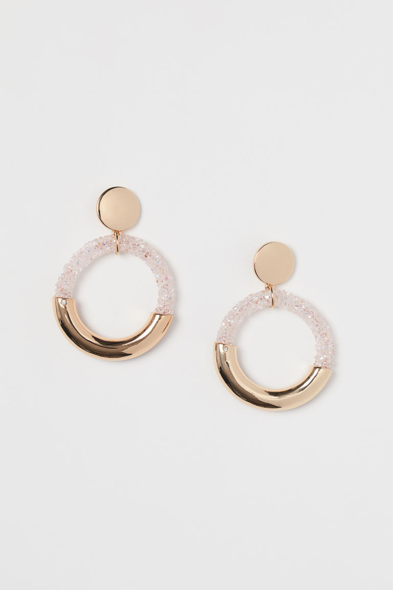 Hoop earrings - Gold-coloured - Ladies | H&M GB