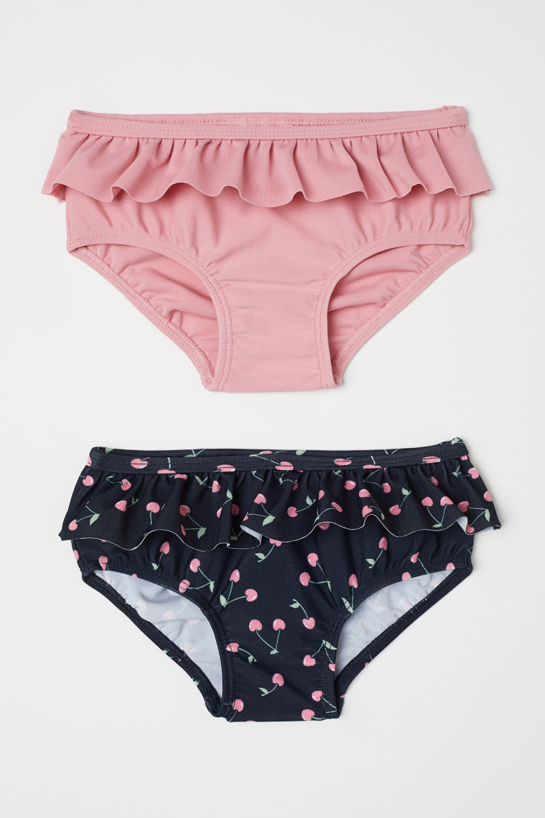 2-pack swim pants - Dark blue/Pink - Kids | H&M GB