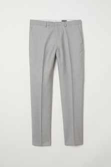 Wollen broek - Slim fit