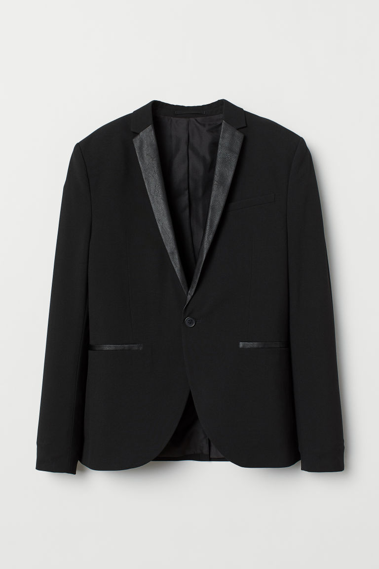 Jacket Skinny Fit - Black - Men | H&M IE