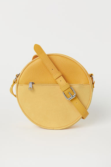 Round shoulder bag - Yellow -  | H&M