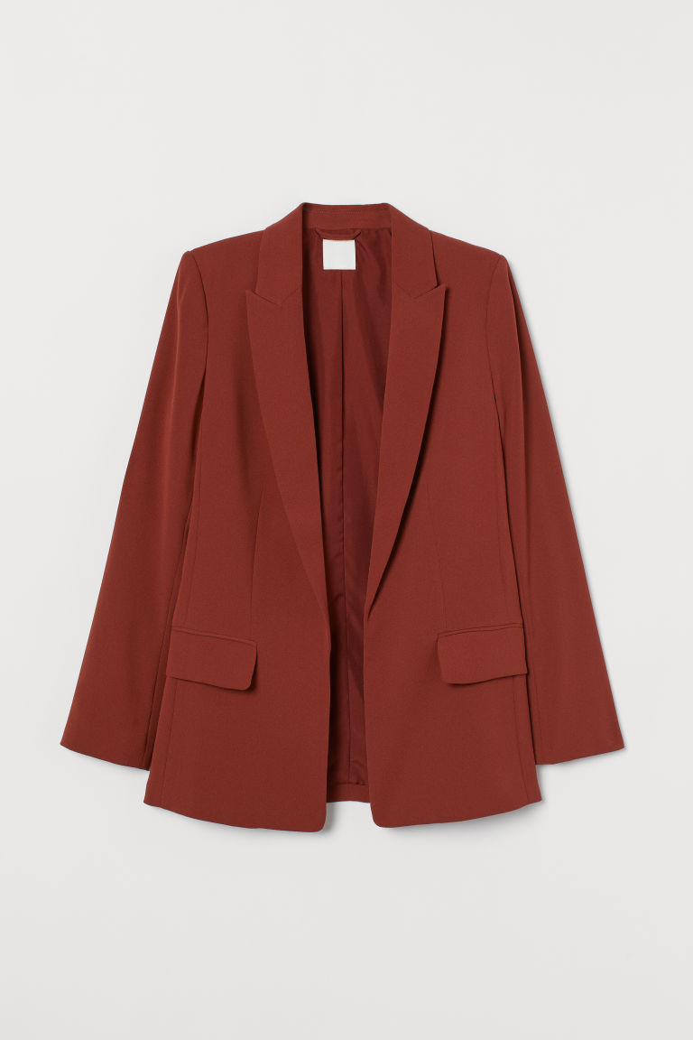 Long jacket - Rust - Ladies | H&M GB