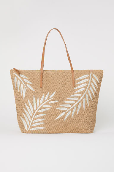 Tas van stro - Naturel - DAMES | H&M BE
