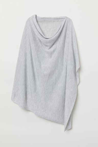 MAMA Nursing poncho - Light grey marl - Ladies | H&M