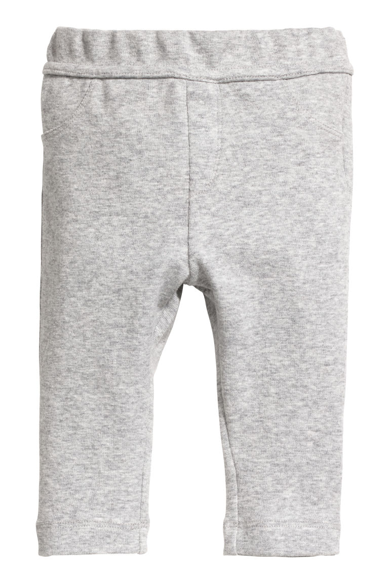 Jersey trousers - Light grey - Kids | H&M CN