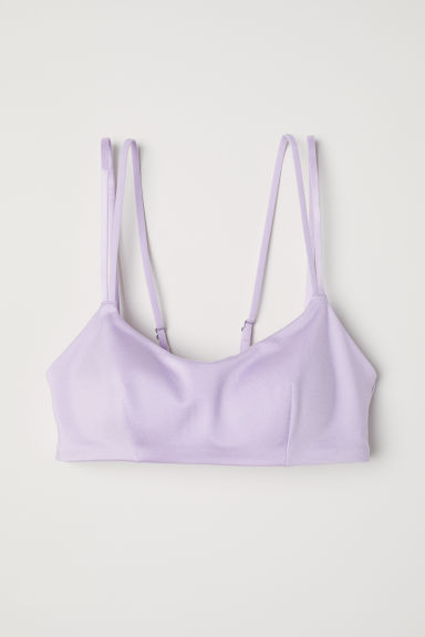 Bikini top - Light purple - Ladies | H&M CN