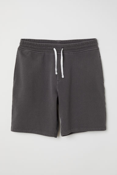 Sweatshirt shorts - Dark grey - Men | H&M CN