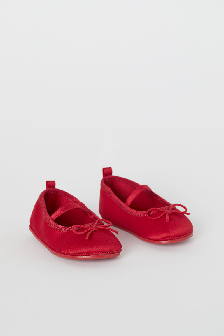 Ballet Flats - Red - Kids | H&M CA