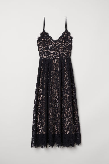 Lace dress - Black - Ladies | H&M