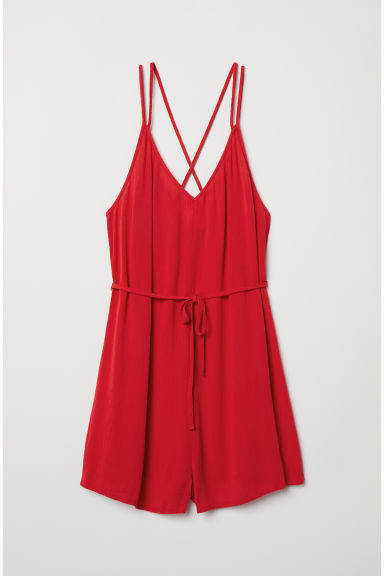 Playsuit - Rood -  | H&M BE
