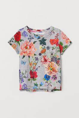 T-shirt with Motif 47b7ce9afa47