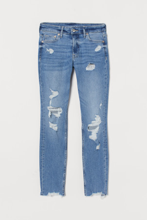 Skinny Regular Ankle JeansModel