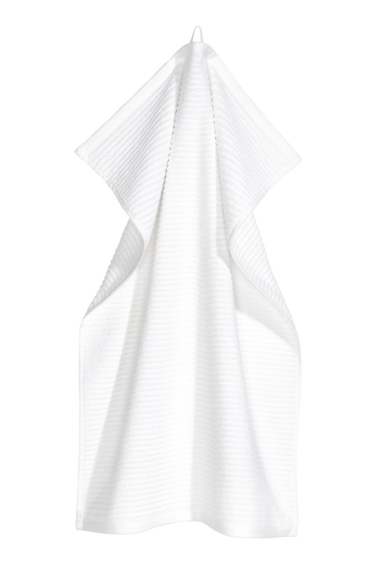 Hand towel - White - Home All | H&M CN