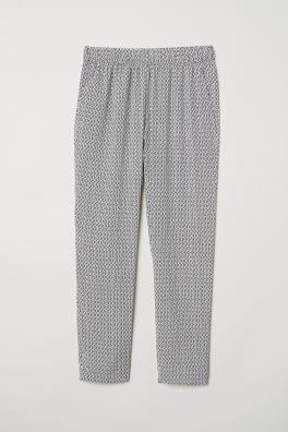 5092b18e56 Pantalón de crepé