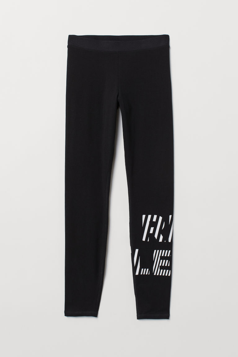 Sports tights - Black -  | H&M