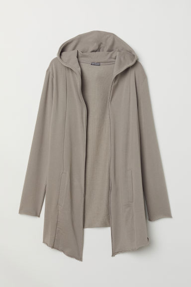 Lang vest - Taupe - HEREN | H&M BE
