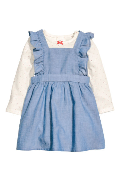 Body et robe salopette - Bleu/chambray - ENFANT | H&M CH