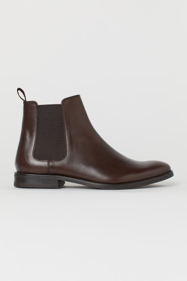 Chelsea boots - Dark brown - Men | H&M