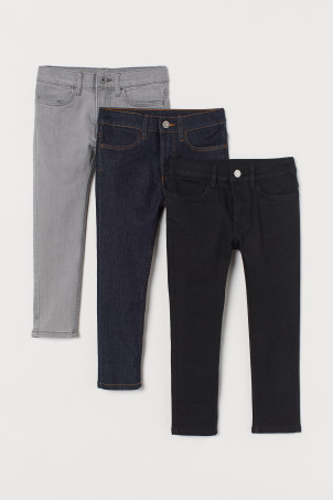 3-pack Skinny Fit Jeans