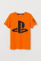 Orange/Playstation