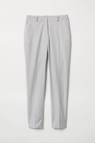 Suit trousers - Light grey - Ladies | H&M