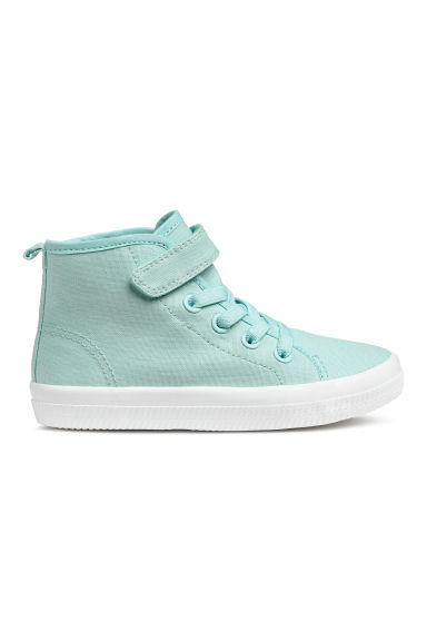 Hi-top trainers - Turquoise - Kids | H&M