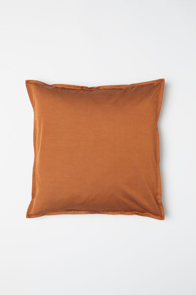 Solid colour cushion cover - Dark orange - Home All | H&M CN