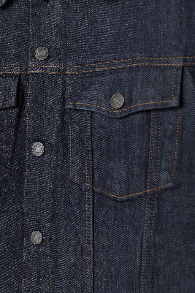 0ea7adf4f3d2 Denim Jacket - Dark denim blue -
