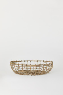 Small Metal Bread Basket