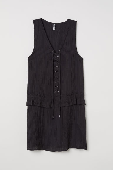 Abito con scollo a V - Nero -  | H&M IT