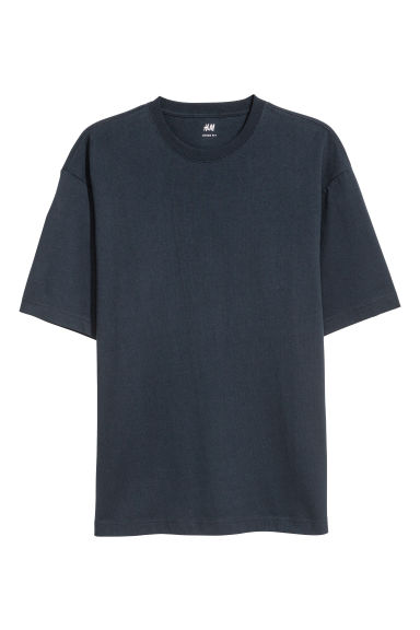 Oversized T-shirt - Dark blue -  | H&M