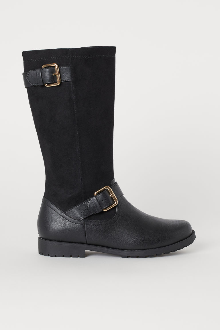Boots - Black - Kids | H&M IN