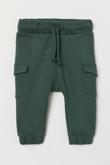 Joggers - Dark green - Kids | H&M CN