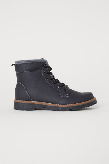 Warm-lined ankle boots - Black - Kids | H&M CN