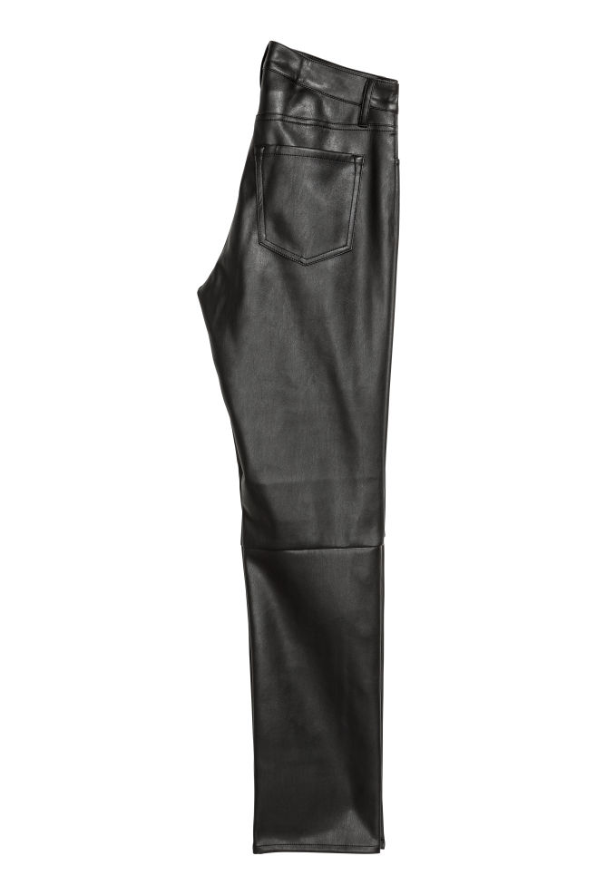 262d3d7b3640 Faux Leather Pants - Black - Ladies