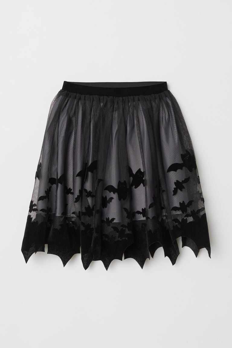 Gonna in tulle fantasia - Nero - BAMBINO | H&M IT