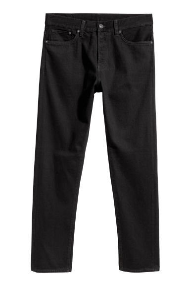 Straight Jeans - Black -  | H&M CN