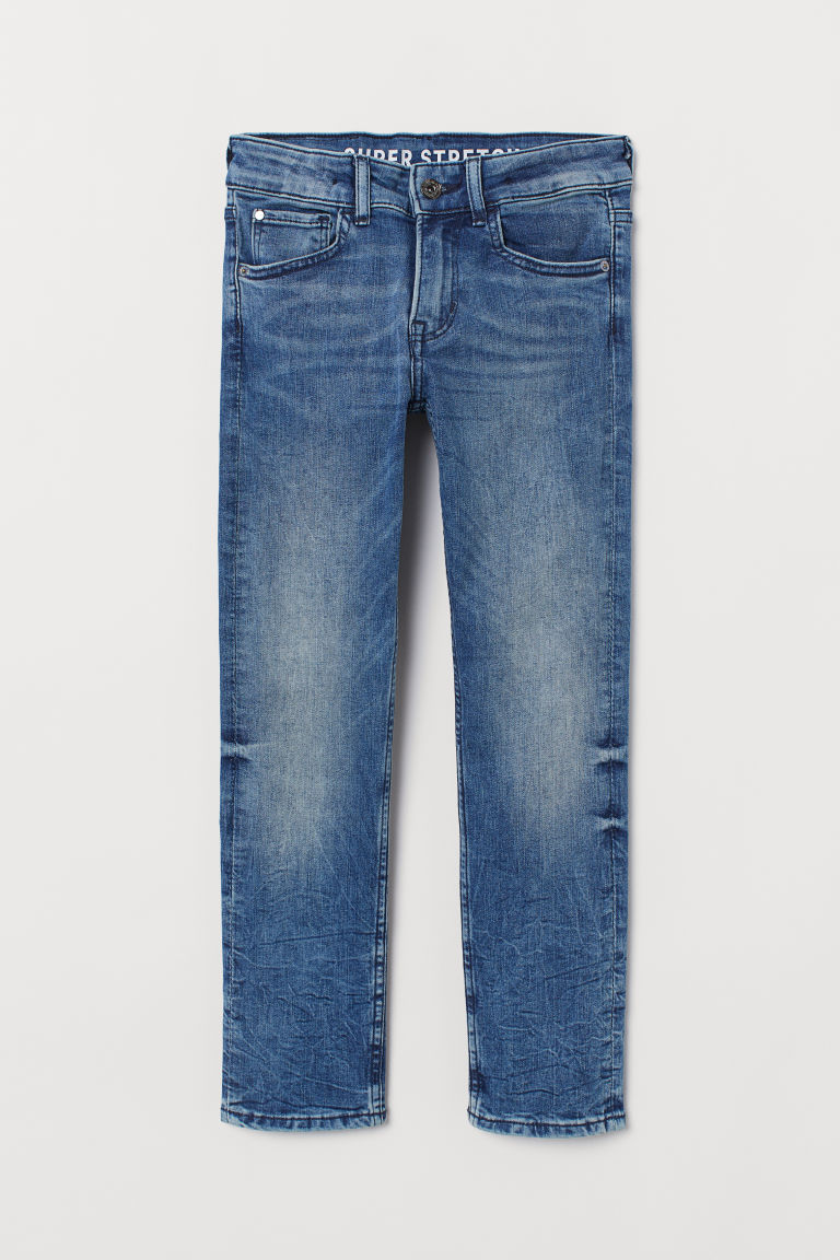 Superstretch Slim Fit Jeans - Denim blue - Kids | H&M GB