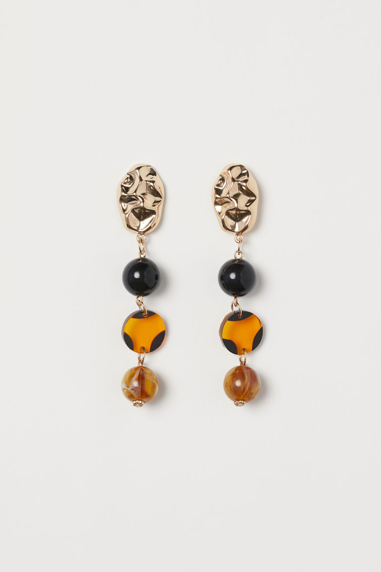 Earrings - Gold-colored - Ladies | H&M US