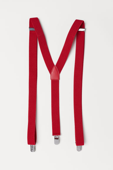 Braces - Red - Men | H&M IE