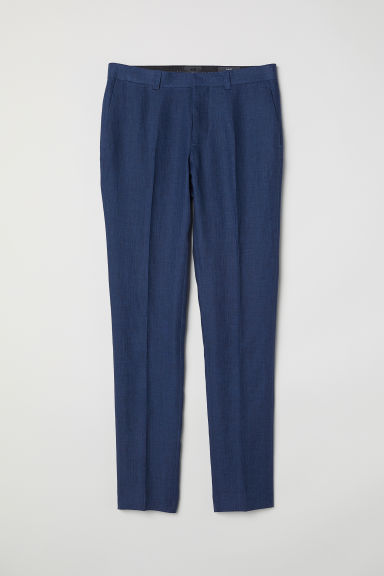 Pantalon de costume Slim fit - Bleu chiné -  | H&M CH