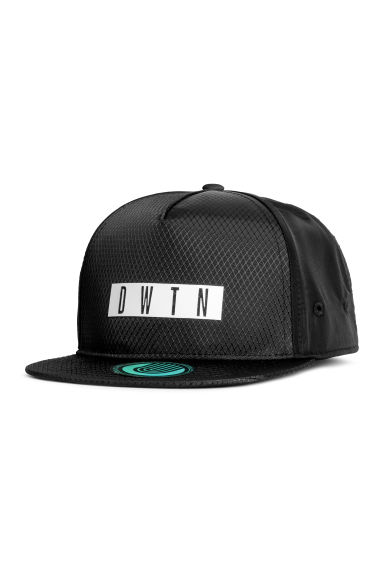 Cap with a motif - Black - Kids | H&M CN