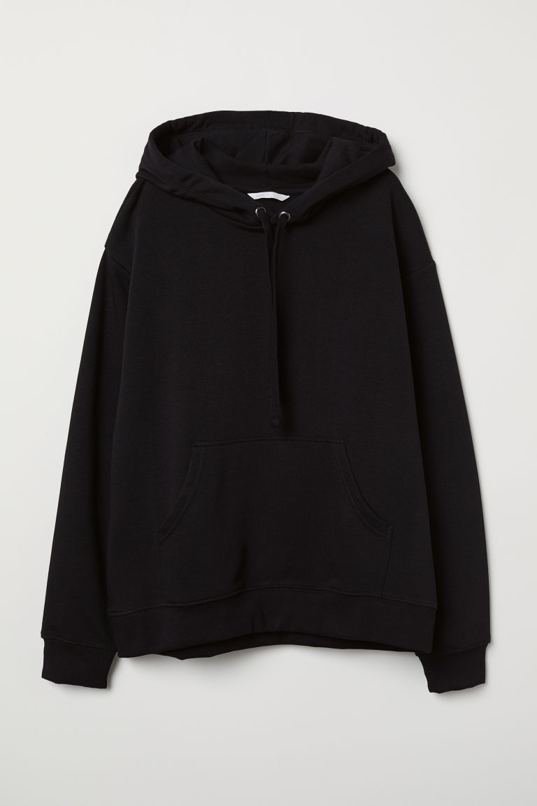 Hooded top - Black - Ladies | H&M CN